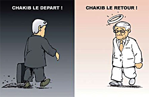 Chakib le retour