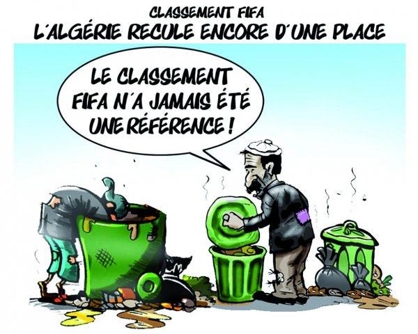 Classement Fifa: L'Algérie recule encore d'une place