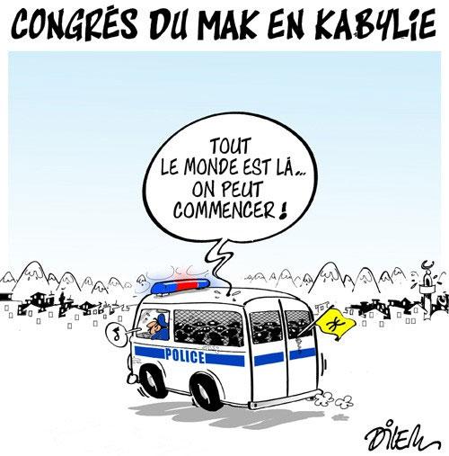 Congrès du mak en Kabylie
