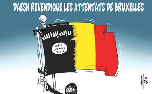 Daesh revendique les attentats de Bruxelles