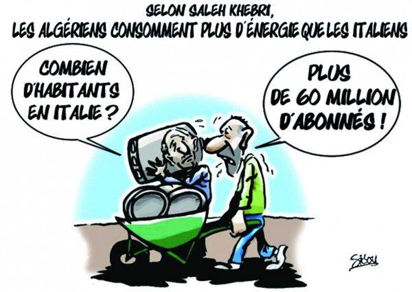 Selon Saleh Khebri: Les Algériens consomment pls d'énergir que les italiens