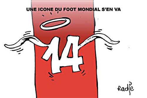 Une icone du foot mondial s'en va