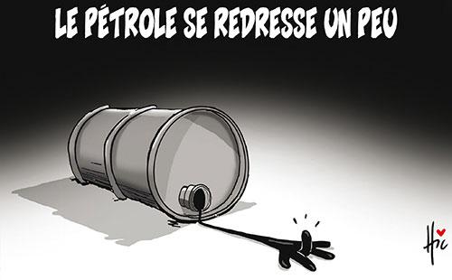 Le pétrole se redresse un peu