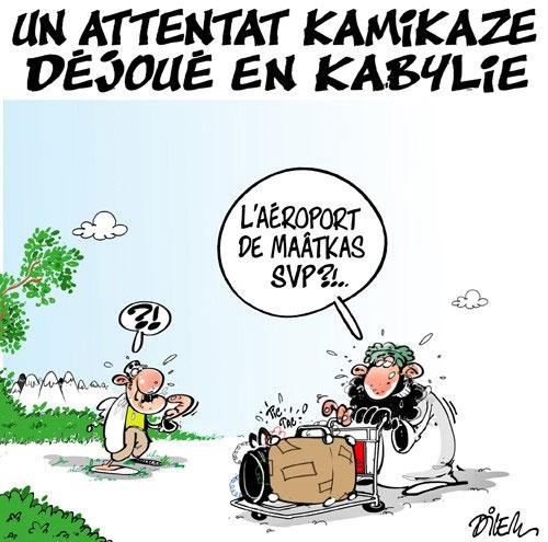 Un attentat kamikaze déjoué en Kabylie