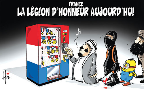 France: La légion d'honneur aujourd'hui