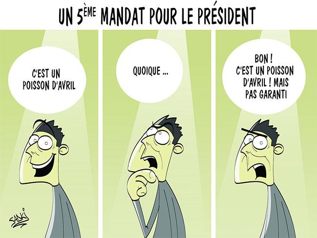 Un 5ème mandat pour le président