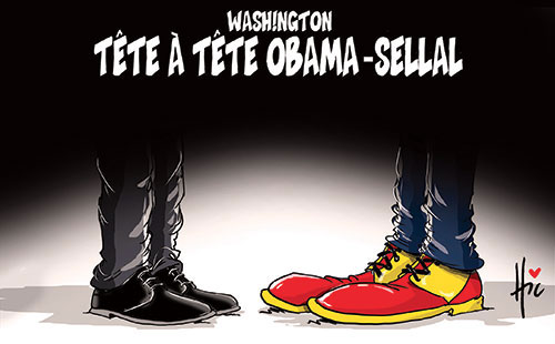 Washington: Tête à tête Obama-Sellal