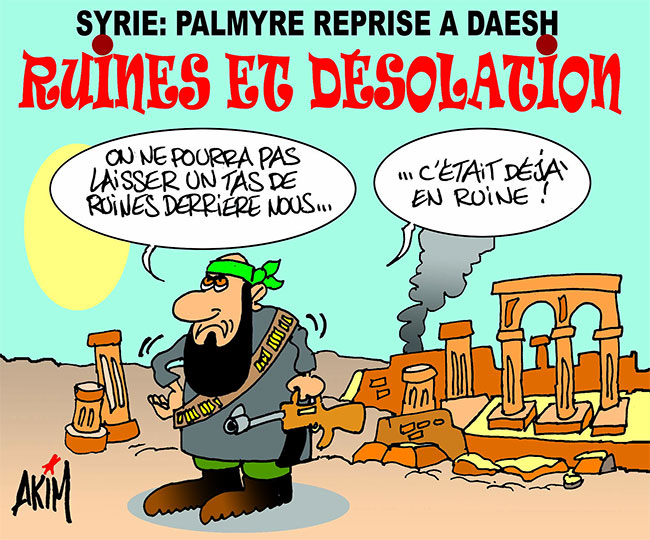 Syrie: Palymre reprise à daesh