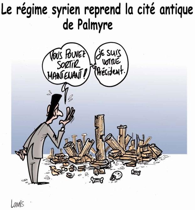 Le régime syrien reprend la cité antique de Palmyre