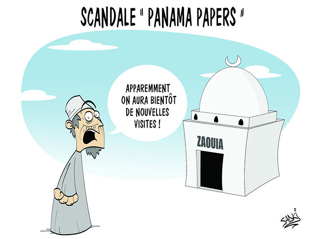 "Scandale ""Panama papers"""