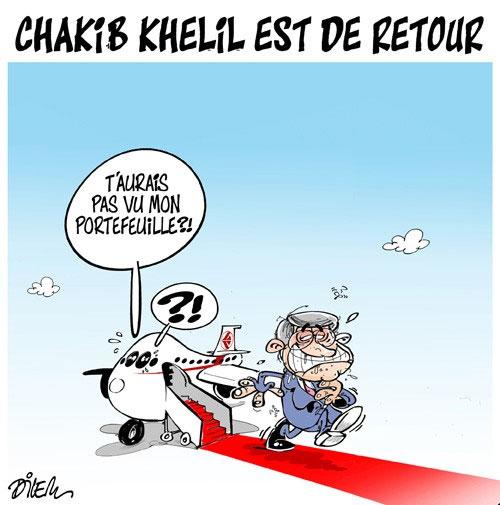 Chakib Khelil est de retour