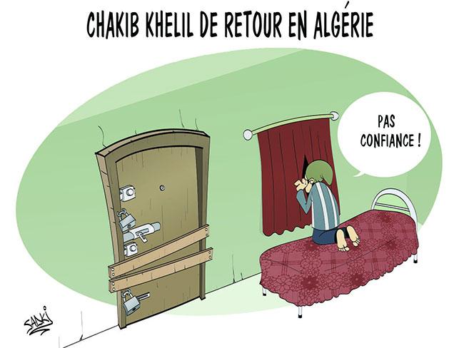 Chakib Khelil de retour en Algérie