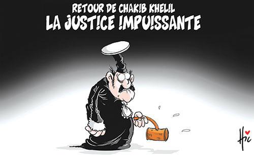 Retour de Chakib Khelil: La justice impuissante