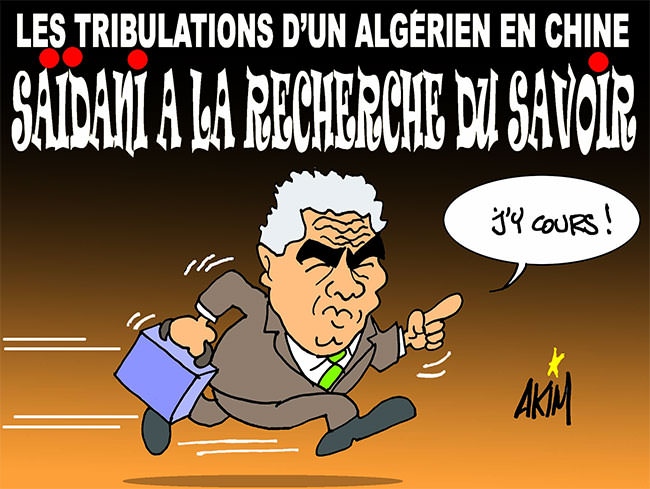 Les tribulations d'un algérien en Chine: Saidani à la recherche du savoir