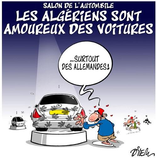Salon de l'automobile: Les Algériens sont amoureux des voitures