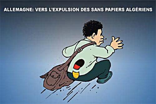 Allemagne: Vers l'expulsion des sans papiers algériens