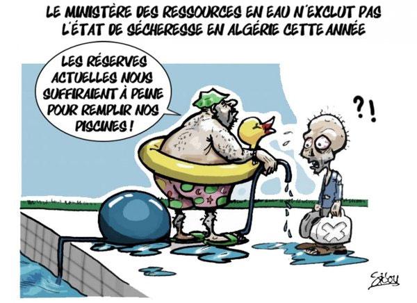 Le ministère des ressources en eau n'exclut pas l'état de sécheresse en Algérie cette année