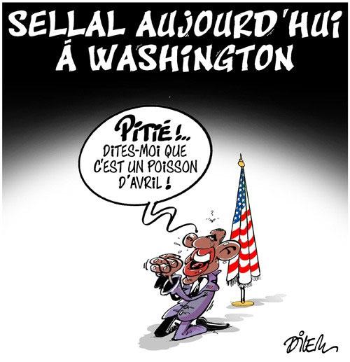 Sellal aujourd'hui à Washington