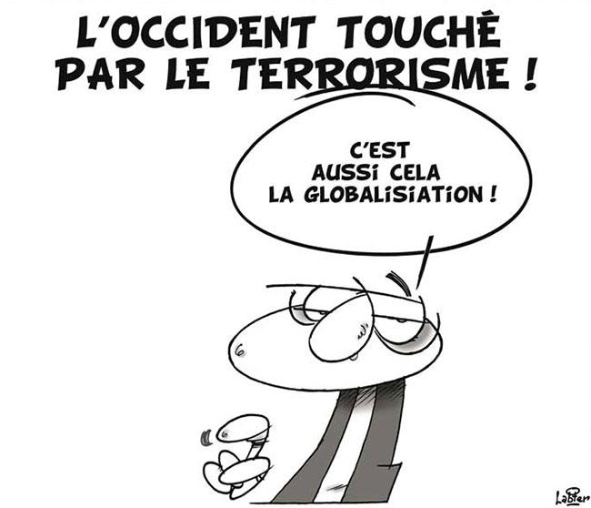 L'occident touché par le terrorisme