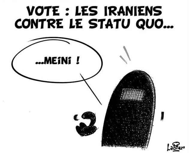 Vote: Les Iraniens contre le statu quo...