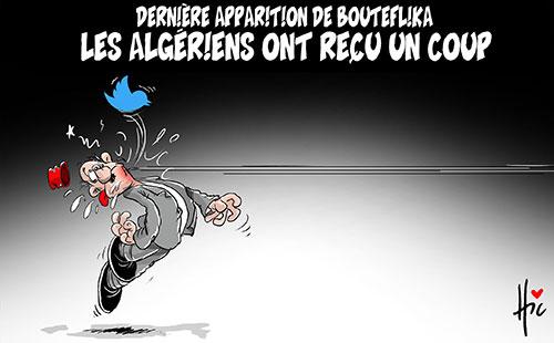 Dernière apparition de Bouteflika: Les Algériens ont reçu un coup