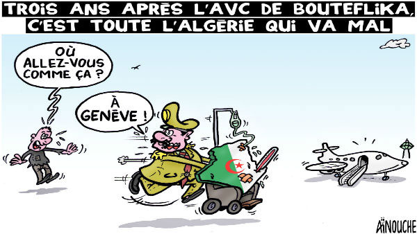 Trois ans après l'avc de Bouteflika
