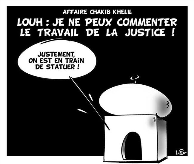 Affaire Chakib Khelil - Louh: Je ne peux commenter le travail de la justice