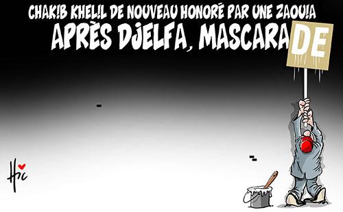 Chakib Khelil de nouveau honoré par une zaouia: Après Djelfa
