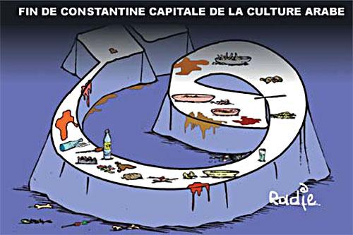Fin de Constantine capitale de la culture arabe