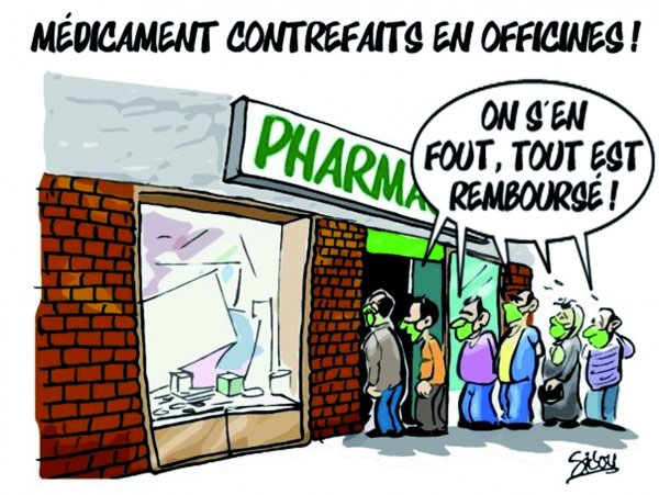 Médicaments contrefaits en officines