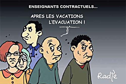 Enseignants contractuels