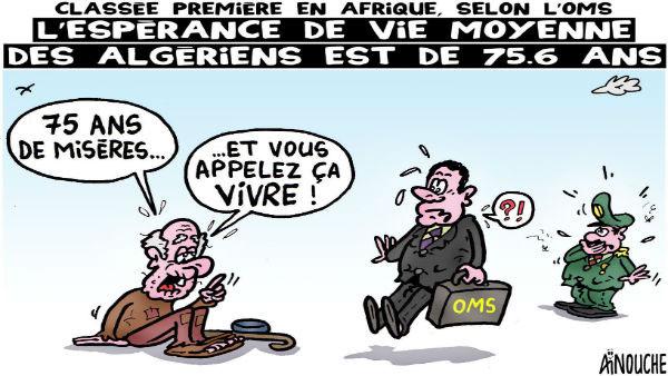 Classée première en Afrique selon l'OMS: L'esperance de vie moyenne des algériens est de 75