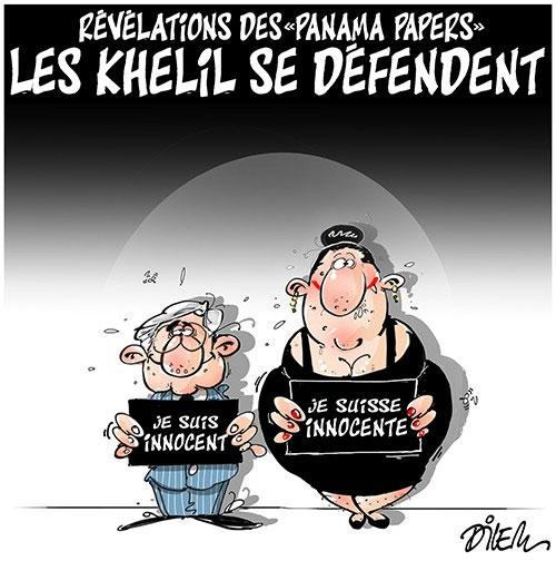 Révélation des Panama papers: Les Khelil se défendent