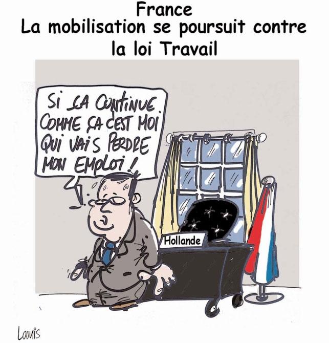 France: La mobilisation se poursuit contre la loi travail