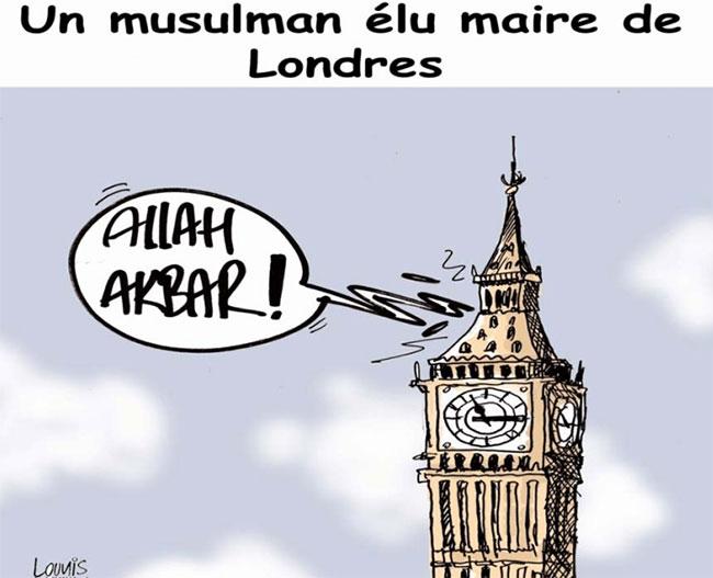 Un musulman élu maire de Londres