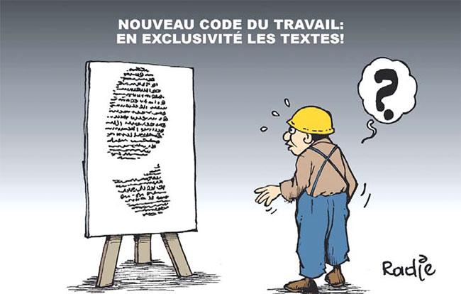 Nouveau code du travail: En exclusivité les textes