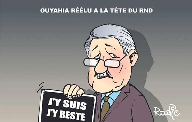 Ouyahia réélu à la tête du RND