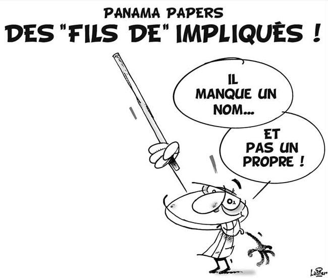"""Panama papers: Des """"fils de"""" impliqués"""