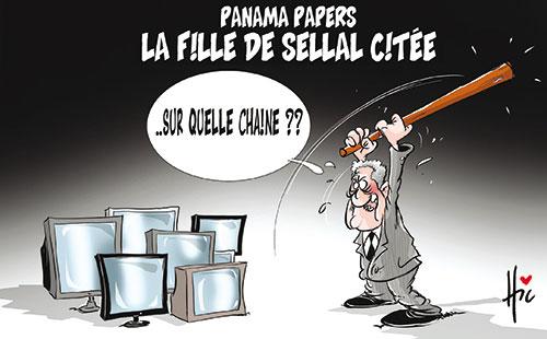 Panama papers: La fille de Sellal citée