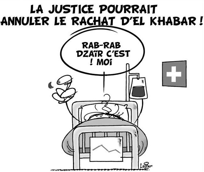 La justice pourrait annuler le rachat d'el khabar