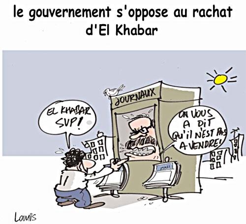 Le gouvernement s'oppose au rachat d'el khabar