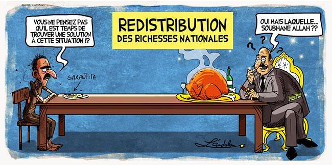 Redistribution des richesses nationales