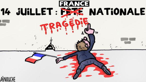 France: 14 juillet tragédie nationale