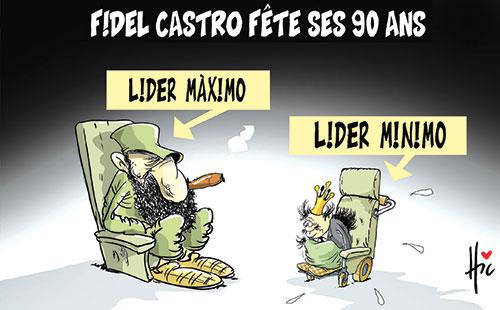 Fidel Castro fête ses 90 ans
