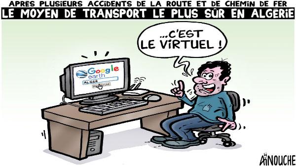 Après plusieurs accidents de la route et de chemin de fer: Le moyen de transport le plus sûr en Algérie