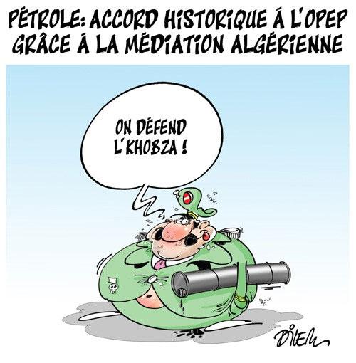 Pétrole: Accord historique à l'opep grâce à la médiation algérienne