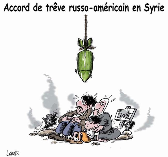 Accord de trêve russo-américain en Syrie