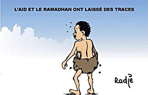 L'aïd et le ramadan ont laissé des traces