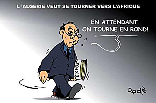 L'Algérie veut se tourner vers l'Afrique
