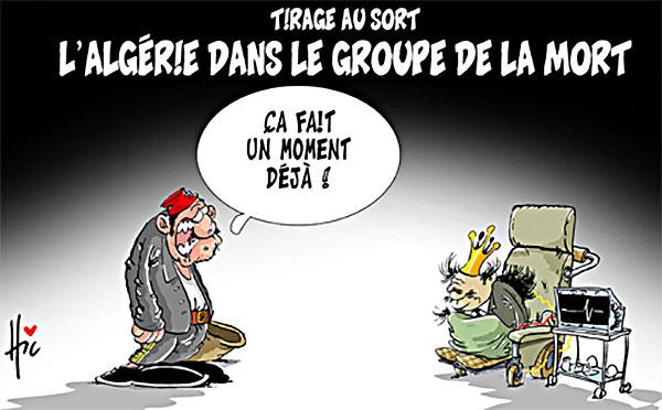 Tirage au sort: L'Algérie dans le groupe de la mort